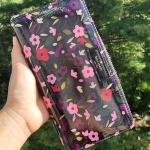 🌸Kate Spade Large Floral Neda Zip Around Wallet